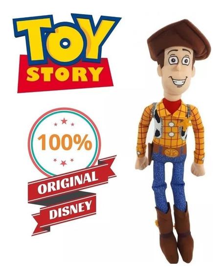 Boneco Pelúcia Woody Toy Story (novo Original Long Jump)