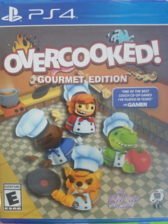 Overcooked Gourmet Edition Ps4 Sellado Delivery Stock Ya