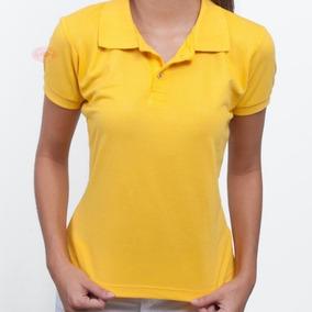 1baec528ac 7 Blusas Feminina Camisas Polo Uniforme Roupa Para Trabalho
