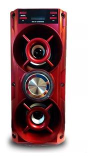 Parlante Bluetooth Usb Mcsd Microfono C/cable Karaoke Radio