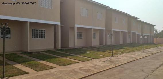Sobrado Em Condomínio Para Venda Em Várzea Grande, Ouro Branco, 3 Dormitórios, 2 Banheiros, 2 Vagas - 336_1-1324276
