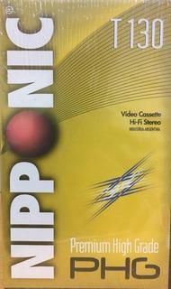 Cassette De Video Vhs 9hs - T130 Promo