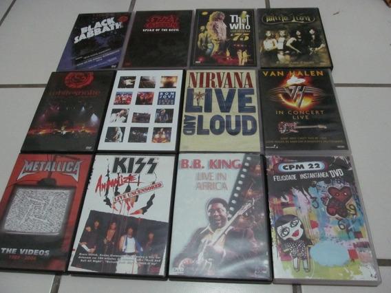 Dvds Metal - Rock - Pop - Blues Internacional - Saldão