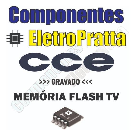 Memoria Gravada Flash Tv Cce Stile D42 (c) - Gravado 25q32
