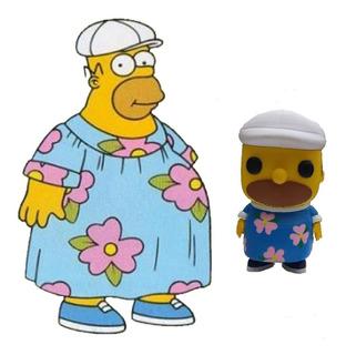 Funko Pop Homero Muumuu - Homero Gordo - Los Simpsons 3d