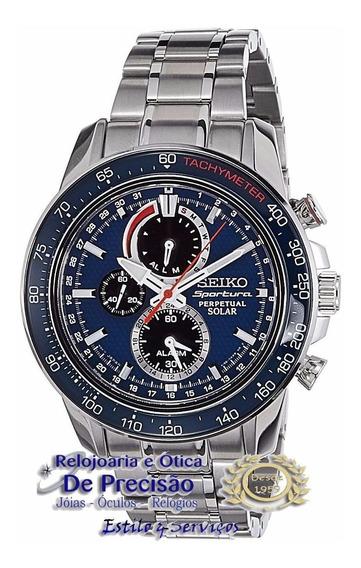 Relógio Seiko Sportura Perpetual Solar Ssc355b1