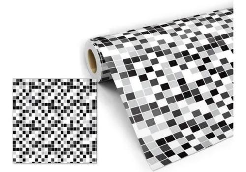 Imagem 1 de 7 de Papel De Parede Adesivo Lavável Para Cozinha Banheiro Past17