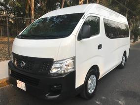 Nissan Urvan 2015 Unico Dueño Conversión Nuevecita !!!!!