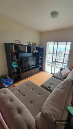 Imagem 1 de 13 de Apartamento Com 2 Dormitórios À Venda, 66 M² Por R$ 490.000,00 - Jardim - Santo André/sp - Ap1311