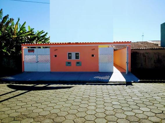 Casa Nova No Bairro Nova Itanhaém À Venda !!! Ref. 5624 C