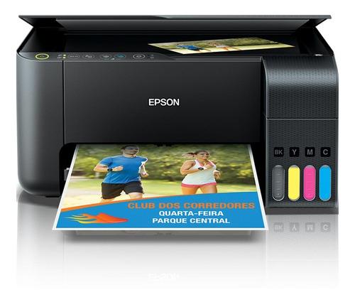 Impressora Multifuncional Jato De Tinta Epson Ecotank L3150
