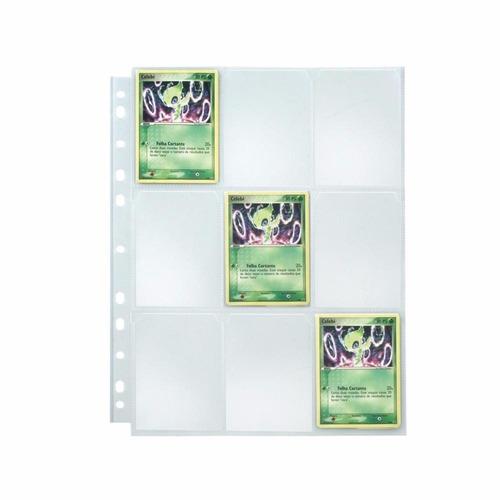 Imagem 1 de 1 de Folha Para Cards  Pokemon, Yuyu Rakusho E Outros