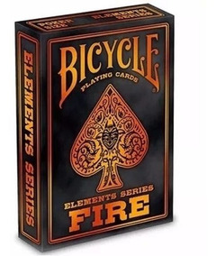 Baralho Bicycle Fire - Elements Series