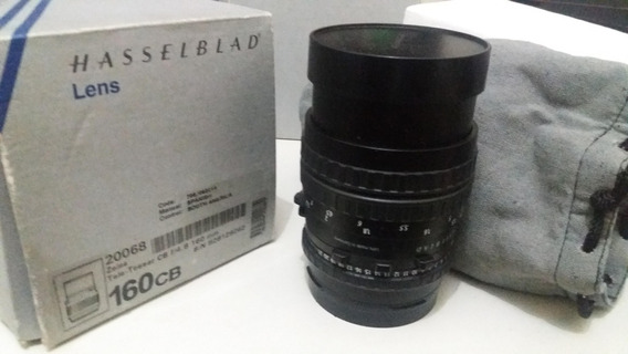 Lente Hasselblad 160 Mm+ Para Sol + Encaixe Pra Canon