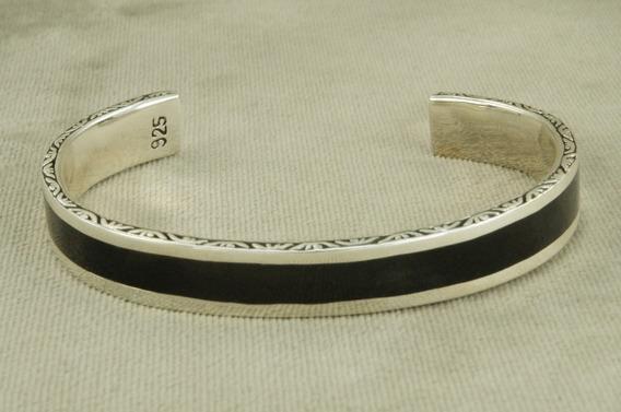Bracelete Pulseira Esmaltado Bali Especial (l26) Prata 925
