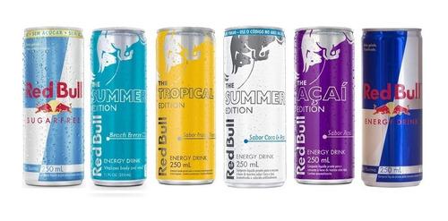 Energético Red Bull Tropical Summer Coco 4 Lata 250 Ml | Mercado Livre