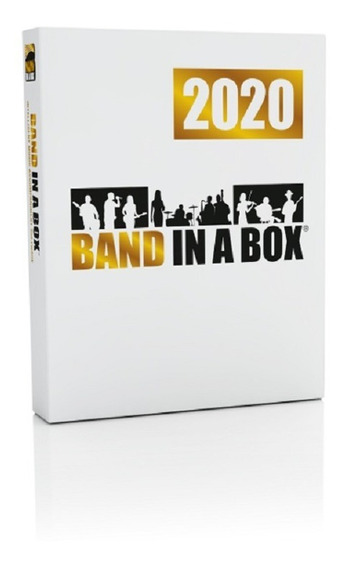 Band In A Box 2020 Pluspak 352 Realtracks Completo