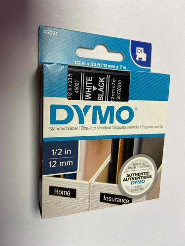 Imagen 1 de 2 de Cinta D1 12mm 45021 Rotuladora Dyno 7 Metros Ionlux