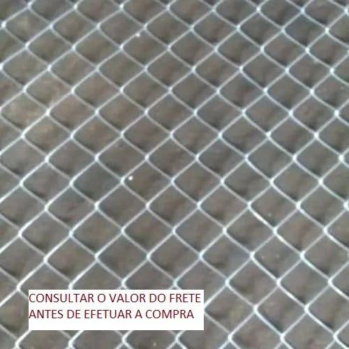 Tela Alambrado Fio 14 Malha2 5/8  Frete Grátis Para Sp E Pr