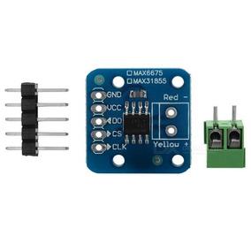 Módulos Sensor Max6675 Leitura De Termopar Tipo K 0-1024ºc