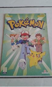 Álbum Buzzy Pokemon 1995 Incompleto Bom Estado