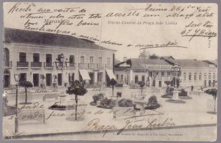 Maranhão - São Luís - Trecho Cental Da Praça João Lisboa