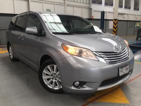 Toyota Sienna 5p Xle Aut Piel Limited Q/c Dvd