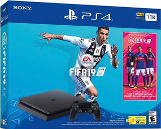 Ps4 Playstation Slim Joystick Fifa 2019 1 Tb