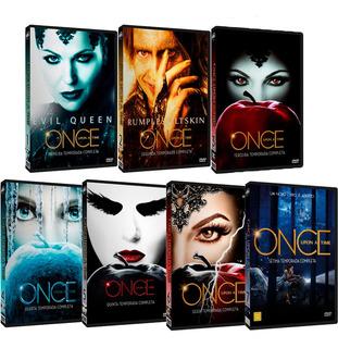 Dvd Once Upon A Time - 1ª A 7ª Temporadas Completas