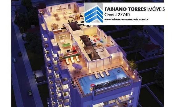 Apartamento Para Venda Em São Vicente, Vila Valenca, 2 Dormitórios, 1 Suíte, 2 Banheiros, 2 Vagas - Solaris