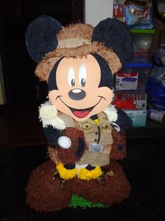 Piñata De Mickey Safari 2d - 9/10