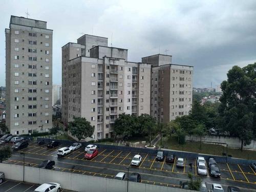 Apartamento Para Venda Com 02 Dormitórios E 01 Vaga.