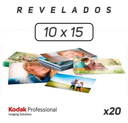 Revelado De Fotos 10x15 Kodak (20 Fotos)