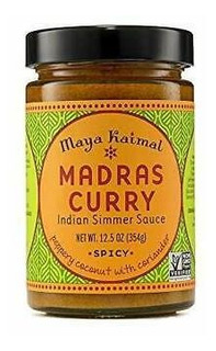 Maya Kaimal Madras Curry Salsa India A Fuego Lento, 12.5 On