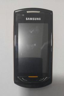 Samsung 5620 Preto/laranja C/ Avaria S/ Garantia