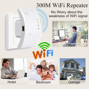 Roteador Wifi Repetidor 802.11n/b/g Signal Boosters 300m
