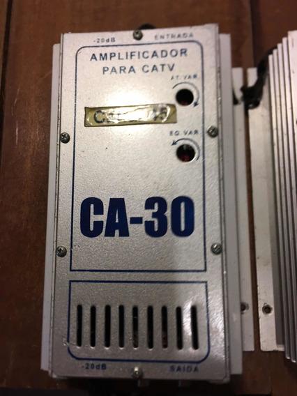 10 Unidades Amplificador Ca30 Catv.