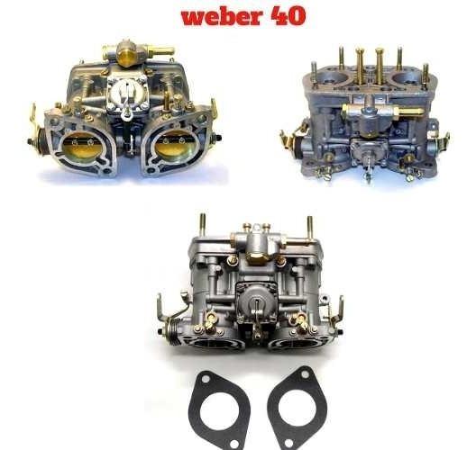 Carburador Weber 40 Gasolina Idf Novo Na Caixa
