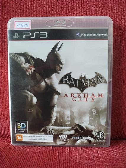 Batman Arkham City Ps3 Mídia Física Usado R.9914