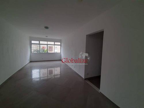 Imagem 1 de 25 de Apartamento À Venda, 138 M² Por R$ 700.000,00 - Gonzaga - Santos/sp - Ap1073