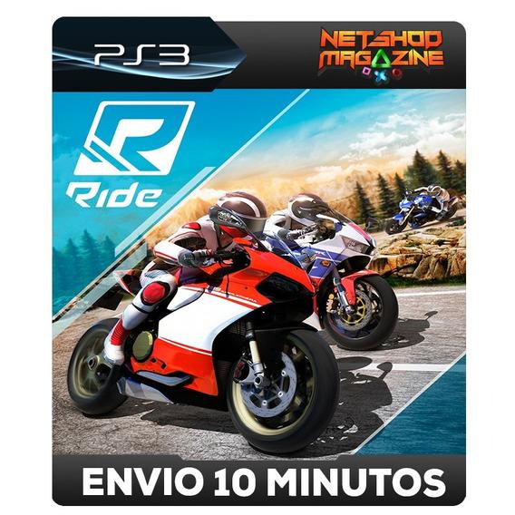 Ride - Psn Ps3 - Envio Imediato