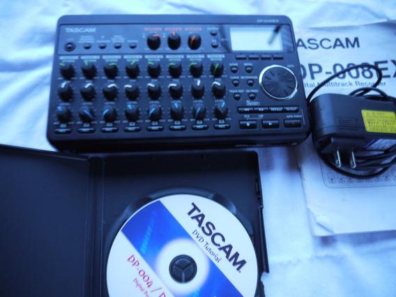 Tascam Dp008ex Portastudio Grabador Digital 8 Pistas