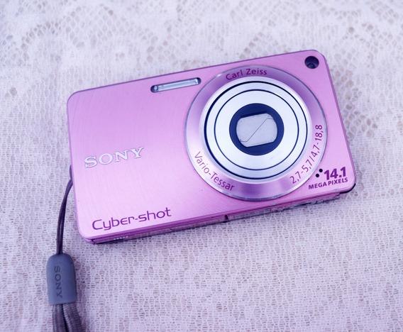 Câmera Sony Cyber Shot Dsc W350 14.1 Mp
