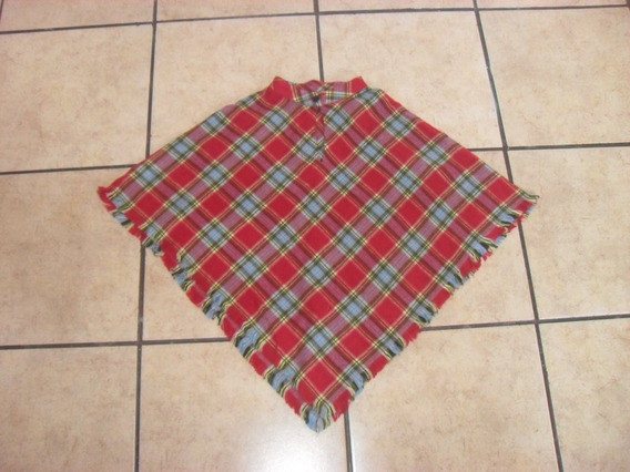 Poncho The Children´s Place Chal Niña Talla 4 - 5 Años