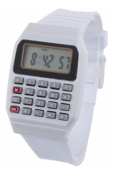 Relógio Com Calculadora