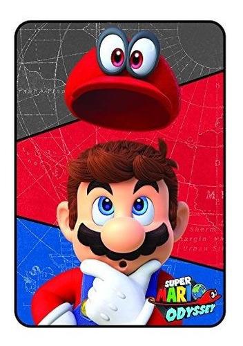 Imagen 1 de 6 de Nintendo Super Mario World Manta De Microraschel 244 X 354 I