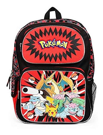 Pokemon Mochila Grande De 16 Pulgadas Con