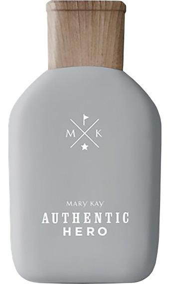 Perfume Masculino Authentic Hero Deo Colônia Mary Kay
