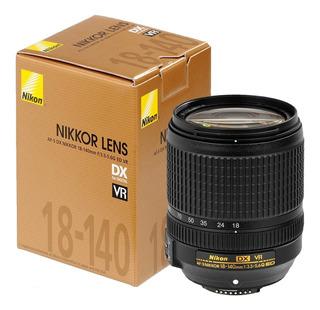 Lente Nikon 18-140 Vr F/3.5-5.6g Ed Vr Af-s Dx Garantia Fact