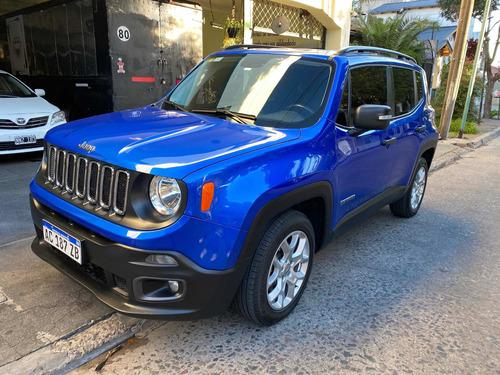 Jeep Renegade 1.8 Sport 2017 Financiada En Cuotas